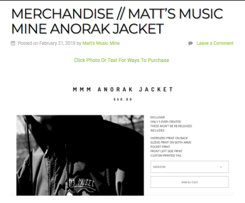 MMM ANORAK JACKETS https://mattsmusicmine.com/2019/02/21/merchandise-matts-music-mine-anorak-jacket/
