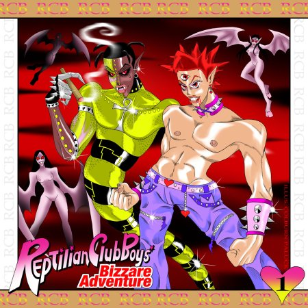 reptilian_club_boyz_bizarre_adventure_vol_01